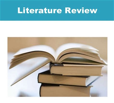 Essay on importance of literature review